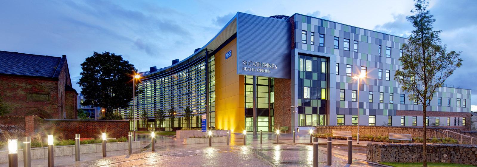 St Catherine's Health Centre - healthcare design