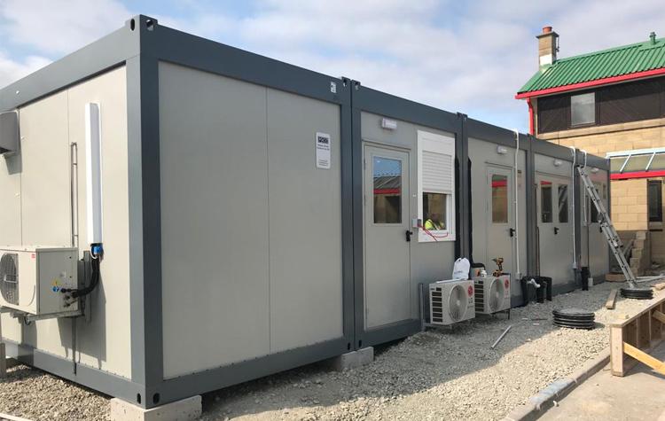 temporary kitchen accommodation at kemh hospital
