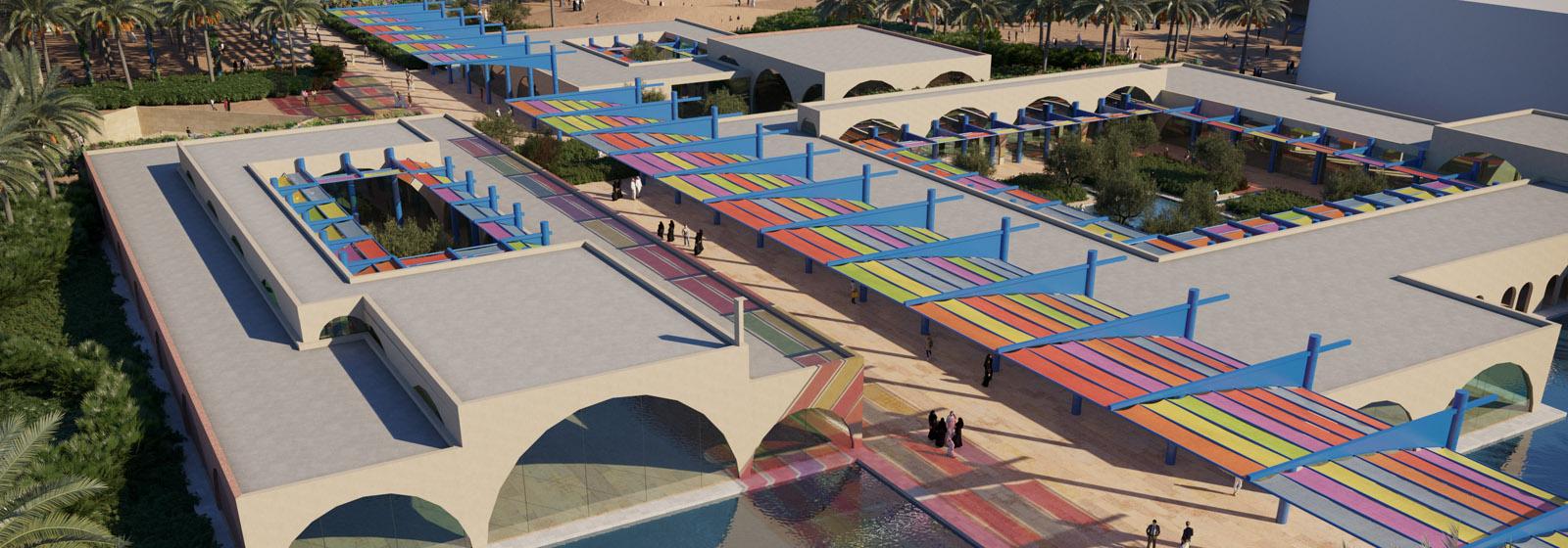 Almedina Youth House Complex and Plaza