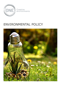 Environmental Policy - Front Page
