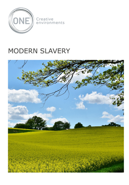 Modern Slavery - Front Page
