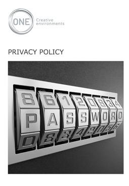 Privacy Policy - Front Page
