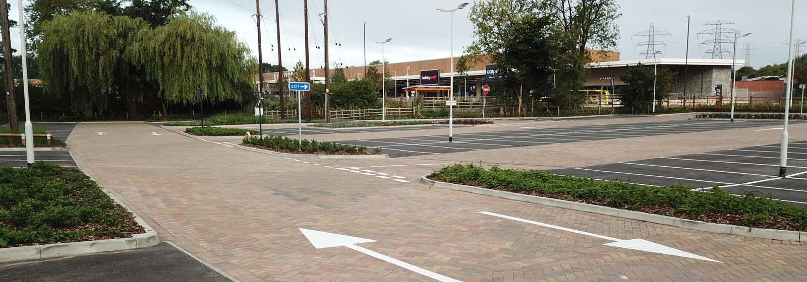 Elliott's Field Retail Park – Car Park
