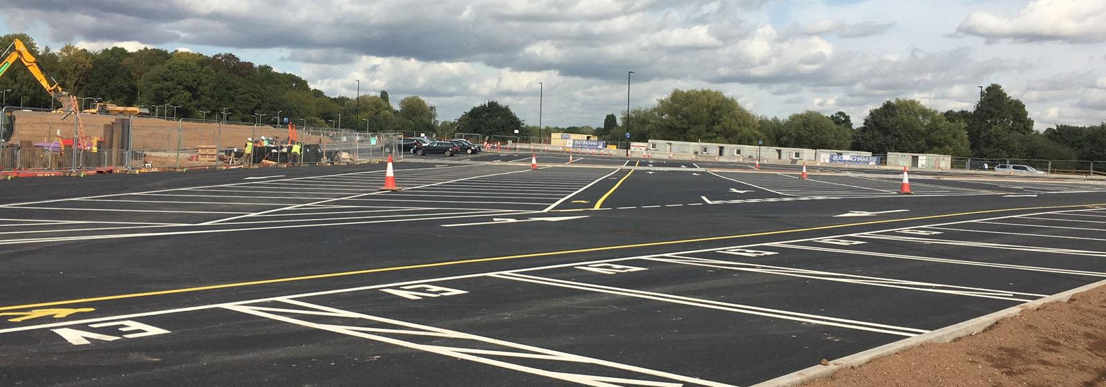 Jaguar Land Rover – Car Park Expansion